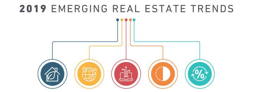2019 emerging real estate trends