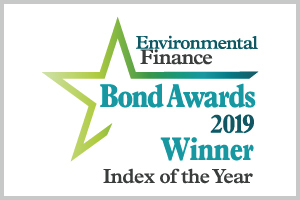 Winner of 'Best Green Bond Index' 2017, 2018 and 2019