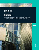 MSCI Europe Index Brochure