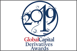 Winner of 2019 Index Product Creator and Developer of the Year at the GlobalCapital Derivatives Awards